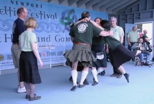 GW's flying feet at Newport 2011-2