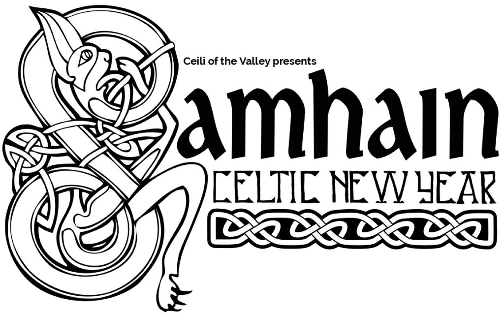 Support the Ceili of the Valley Society with the purchase of a specially created bag for $5 featuring the above logo.