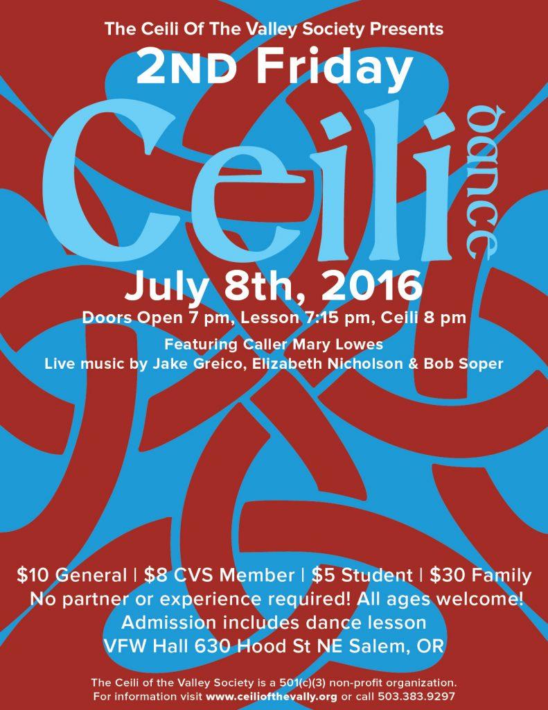 2016-07_Ceili Poster