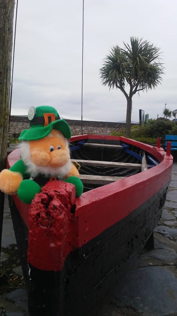 Ancient boat at Portmagee.