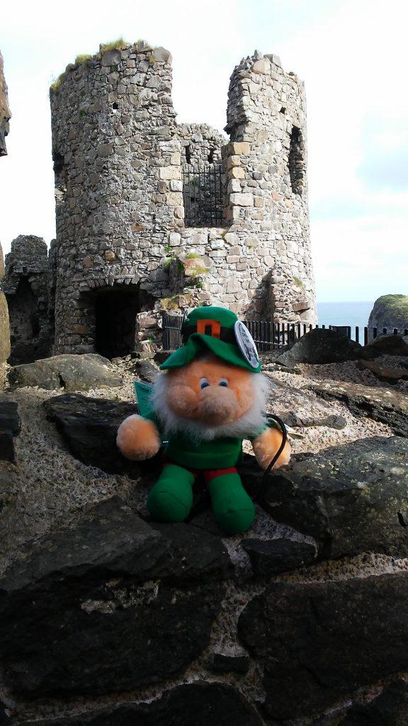 Dunluce Castle, Portrush. County Derry